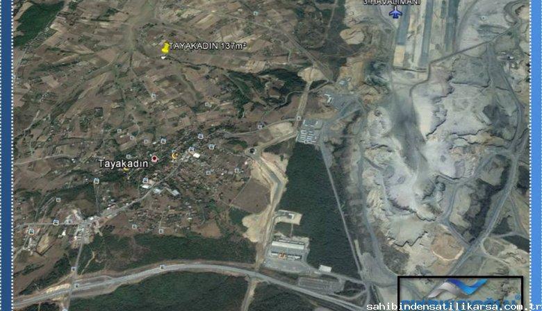 ÇIKRIKÇIOĞLU'ndan FIRSAT 3.Havalimanına komşu TAYAKADIN'da TARLA