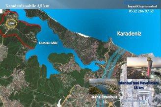 çıkrıkçıoğlu'ndan ÇATALCA KARACAKÖY'de yatırımlık arazi